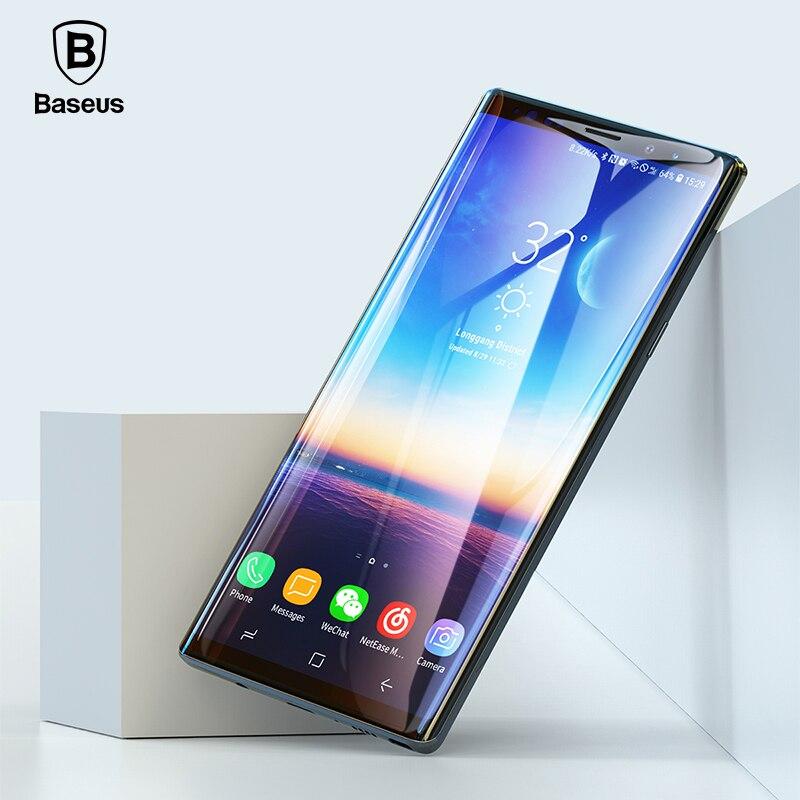 Baseus 3D Oberfläche Screen Protector Für Samsung Hinweis 9 0,3mm Dünne 9 H Gehärtetem Glas Für Samsung Galaxy Note 9 schutz Glas