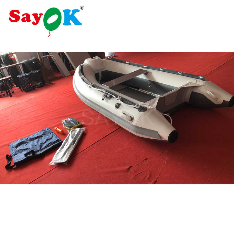 Detail Feedback Questions about Hypalon Inflatable boat red