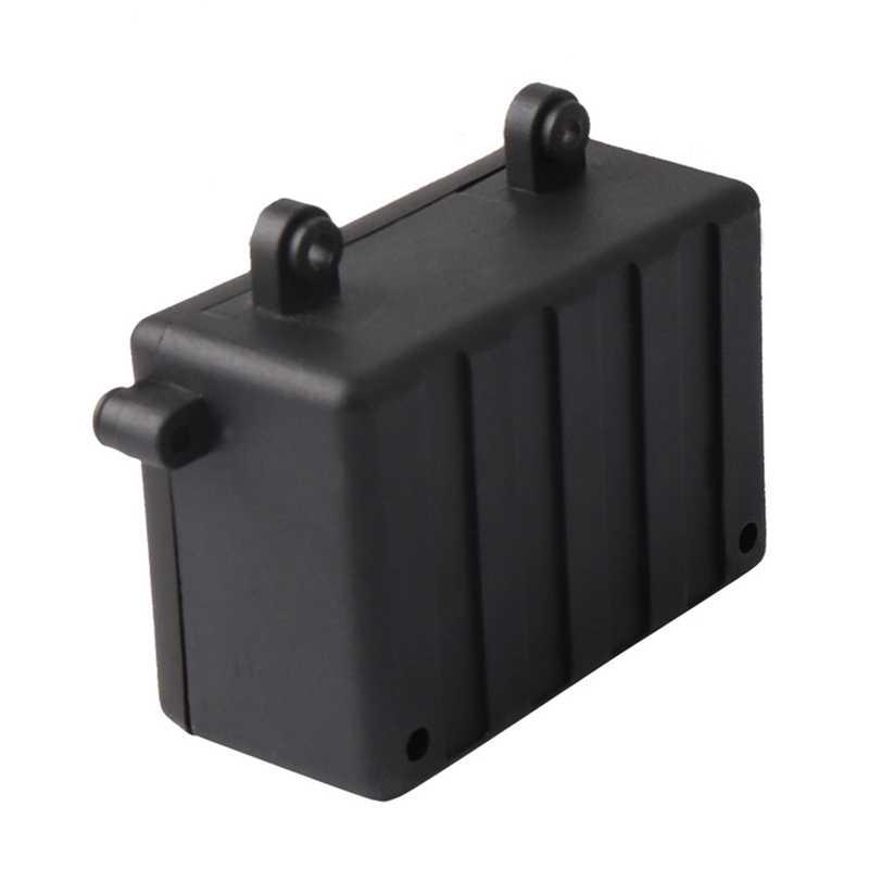 Caja de receptor Rc coche Radio Box herramienta de decoración de plástico para 1/10 Rc Rock orugas coche Axial Scx10 Rc4Wd D90 D110 d130
