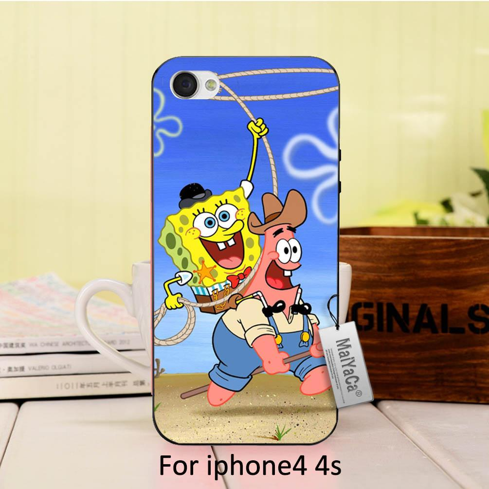 Online coloring mobile - Spongebob And Patrick Star Game Together In The Arrest Colorful Cute Phone Accessories For Case Iphone