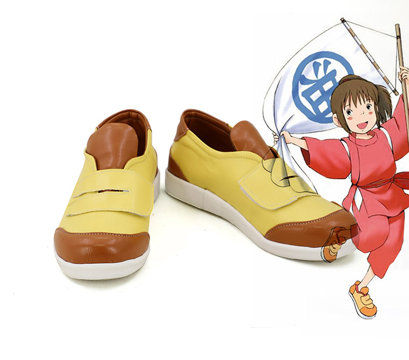 Anime en mouvement loin Chihiro Ogino chaussures Cosplay Costume bottes Costumes