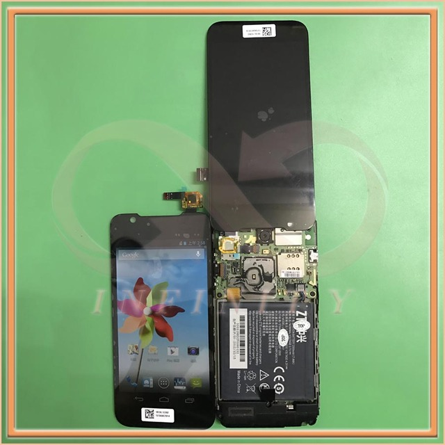 """In Stock 100% Tested NEW Original 4.5"""" Display For ZTE Grand Era U985 V985 LCD Screen With Touch Panel Digitizer+tracking number"""
