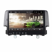 KLYDE 9 1 Din 8 Core Android 8.0 For Honda CIVIC 2016 Car Multimedia Player Without DVD