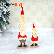 HOYVJOY Christmas Tree Decorations Santa Claus Design 8*31cm 6*19cm Big Decor New Year