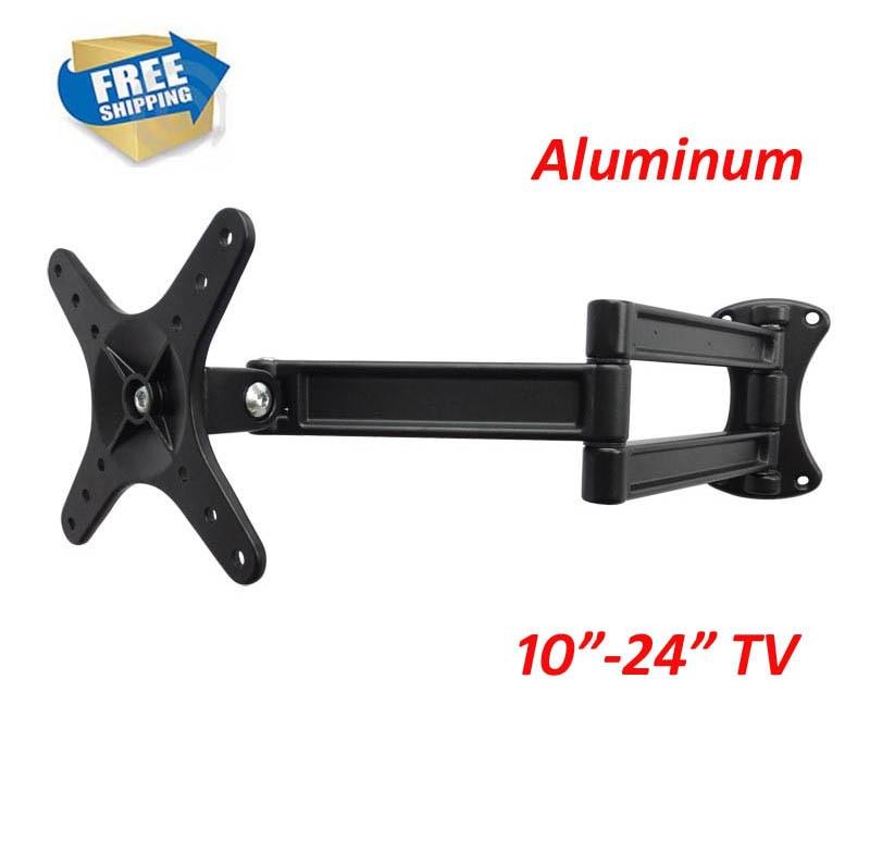 D-MOUNT LCD-WA50 aluminum 10 inch 24in 27 inch tiltable full motion swivel LCD LED PLASMA