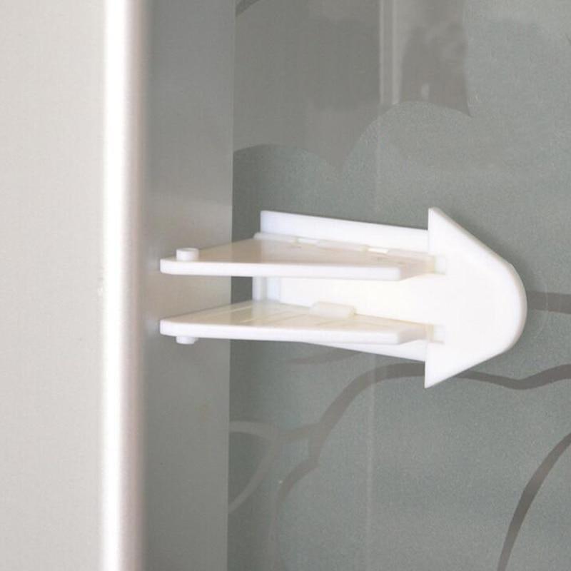 (10 Pcs / Lot) Sliding Door Lock Child Safety Activities To Prevent The Baby  Open The Window And Door  7.5*9cm YYT208