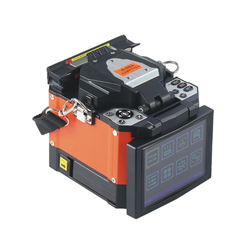 Cable Fusion Splicer Mfs-t60 With Fiber Cleaver Ftth Sm Mm Communication Equipments Fiber Optic Equipments