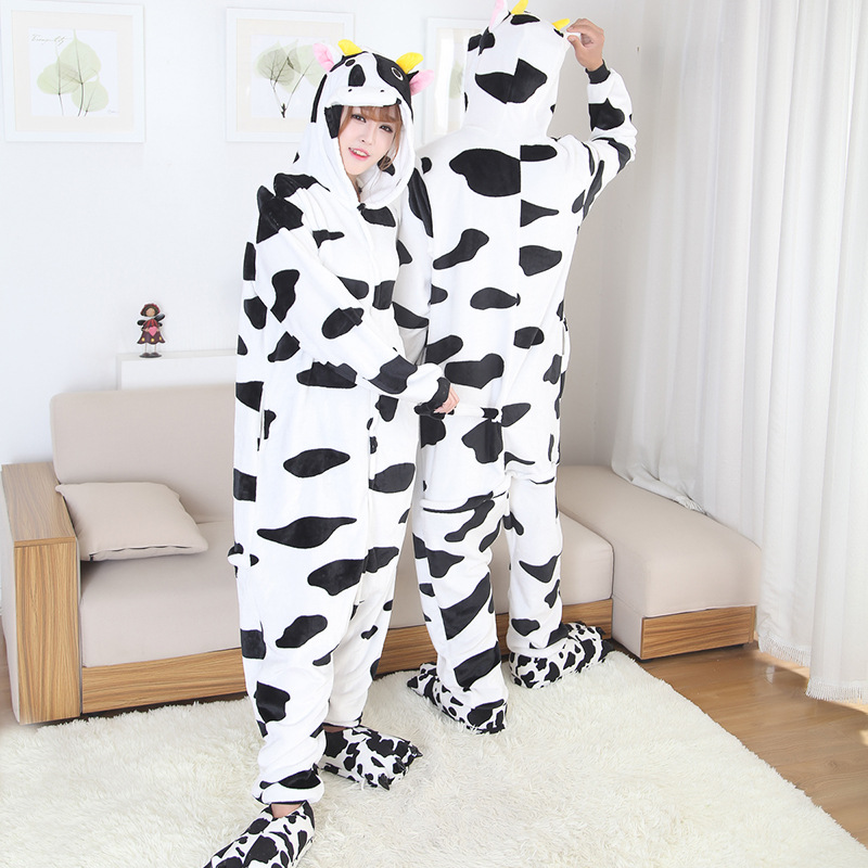 cow onesies for men and women dairy cattle kigurumi
