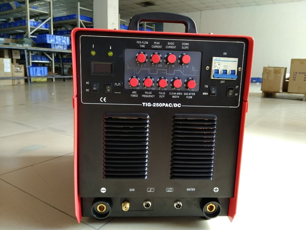 купить Aluminium Welding Machine TIG-250P AC DC welder, three phase AC380 50/60HZ tig welding machine онлайн
