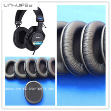 Soft leatherette ear cushions for sony MDR-7506 MDR V6 CD900ST headphones Free shipping by Mail