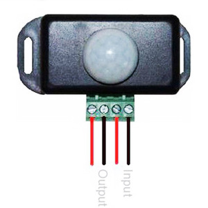 Image 2 - Автоматический Инфракрасный датчик движения, 120 градусов, 12 В 24 В, 8 А, светодиодный светильник 5 ~ 8 м
