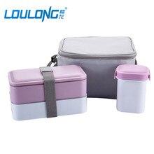 Japanische Lunchbox Mit Suppe Becher Isolierte Kühltasche Mikrowelle Behälter Für Lebensmittel Lagerung 3 stücke Sicher Picknick Lauch Boxs LB017