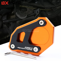 For KTM 1190 Adventure Aluminum CNC Motorcycle Side Stand Plate Kickstand Extension Pad Fit For KTM