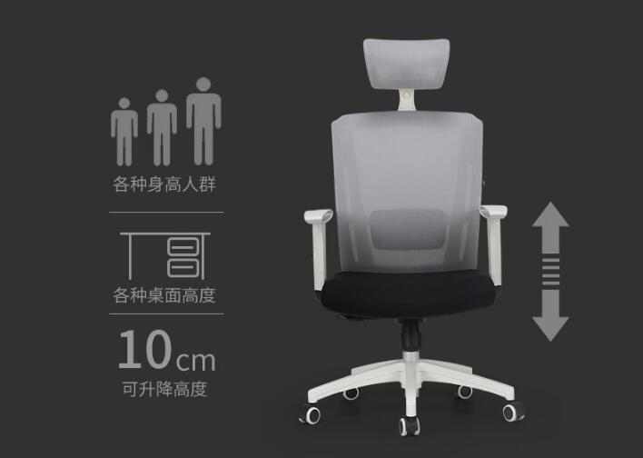 The boss's chair. Leather back massage chair.