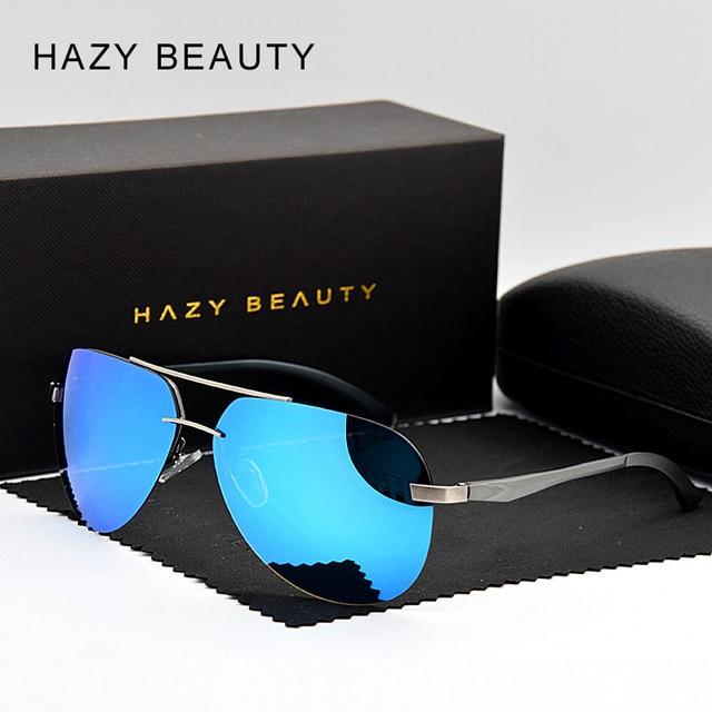 22a238c1dc6f 2018 New Polarized Coating Sunglass Classic Men Pilot Sport Sunglasses  Fashion Alloy Flexible Leg Oculos UV400 Original Package