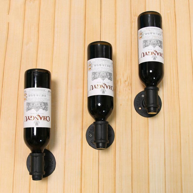 Exelent Decorative Wrought Iron Wall Wine Racks Ideas - Wall Art ...