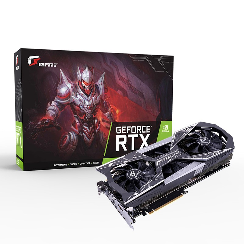 Colorful IGame RTX 2080 Vulcan X OC Graphics Card GDDR6 8G Nvidia Gaming Video Card 256Bit HDMI/DP PCI-E X16 For Desktop PC Game