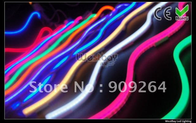 Mini led neon flex rope with super good flexibilty, can be bended into any shape, good replacement for traditional glass neon