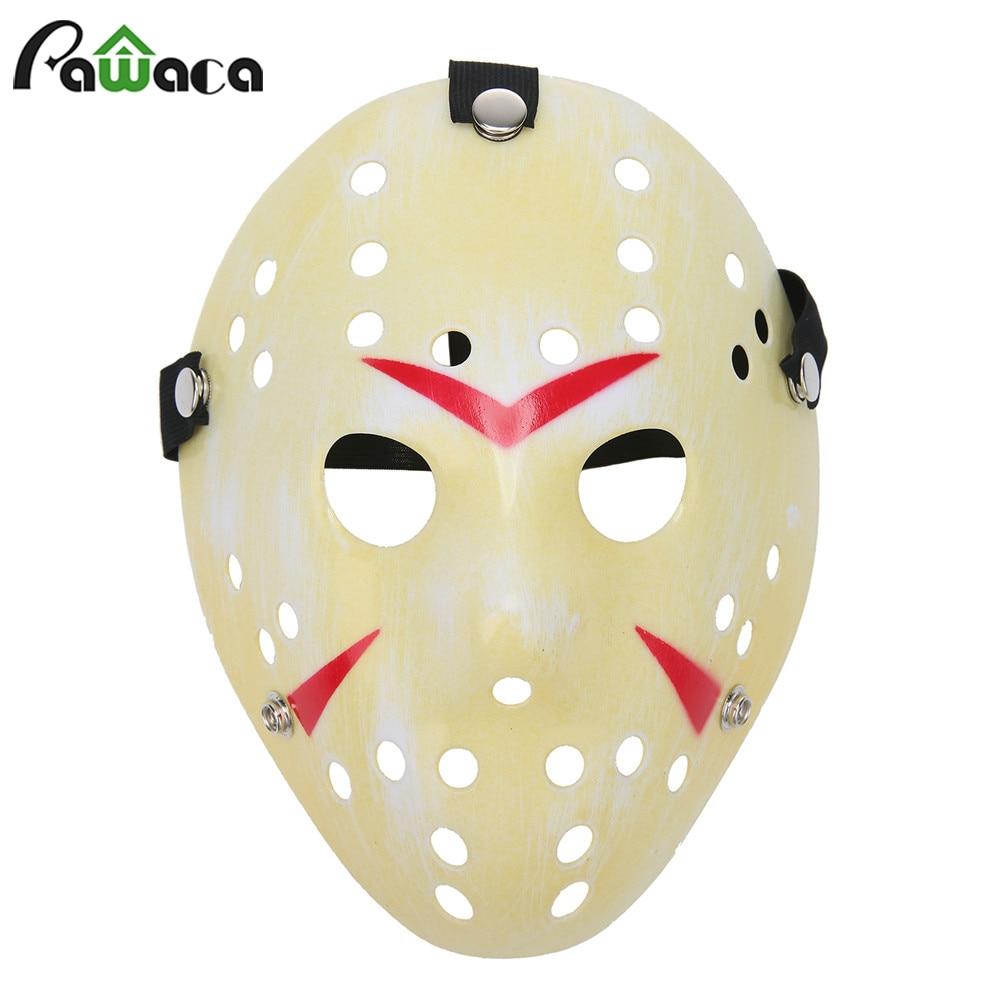 Party Mask Masquerade Masks Thickening Fade Yellow White Jason ...