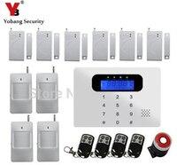 YobangSecurity Bezprzewodowe Włamywacz system Alarmowy Bezprzewodowy GSM Bezpieczeństwa Domu Dom Sygnalizacji Włamania i napadu z Kontrolą Host Syreny PIR