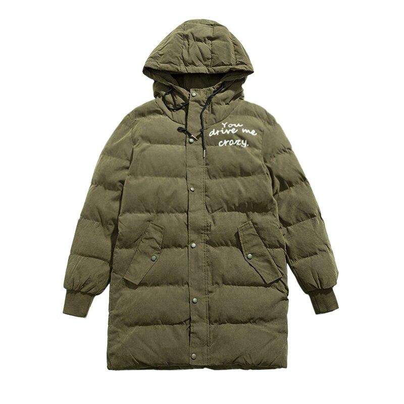 Hooded Winter Coat Men Long Parka Men Military Casual Letter Printing Plus Size M 6XL Warm