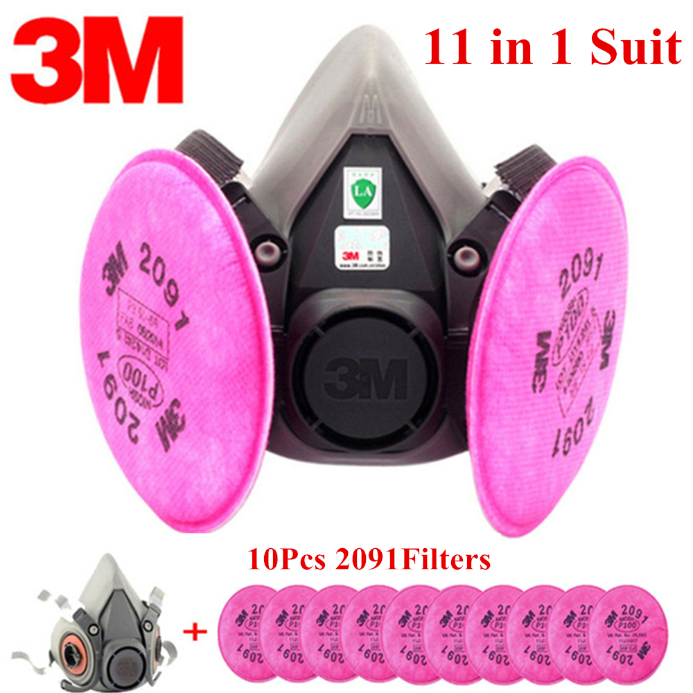 11 In 1 3M6200 KN95 Dust Mask Respirator Headset Anti-particulate Filters Anti-Dust Mask Anti-fog Haze PM2.5 Protective Mask11 In 1 3M6200 KN95 Dust Mask Respirator Headset Anti-particulate Filters Anti-Dust Mask Anti-fog Haze PM2.5 Protective Mask