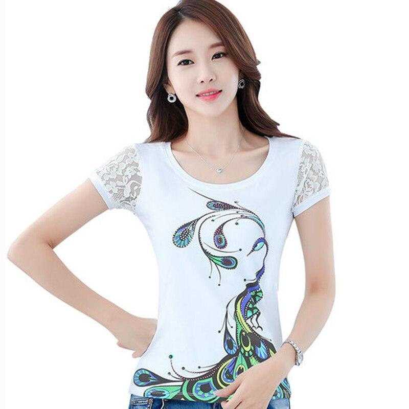 White T Shirt Womens