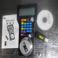 2 4G 3 Axis USB Wireless Handle Wheel For CNC Mach3 Router Engraving Machine LCD