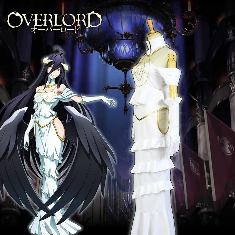 Overlord Anime Cosplay Costume Albedo