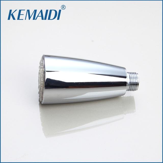 Kemaidi Contemporary Kitchen Led Light Faucet Spray Spout Kitchen