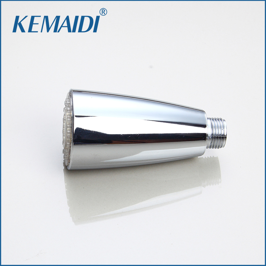 KEMAIDI Contemporary Kitchen LED Light Faucet Spray Spout Kitchen Faucets Tap Accessories Kitchen Replacement Sprayer