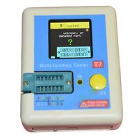 THGS New LCR T7 TFT Transistor Tester Diode Triode Capacitance ESR Meter LCR MOSFET
