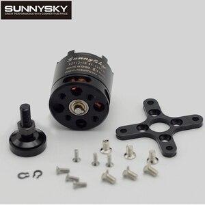Image 2 - Sunnysky moteur sans balais, 1 pièce, 2212 pour Multicopter RC quadrirotor X2212 980KV 1250KV 1400KV 2450KV