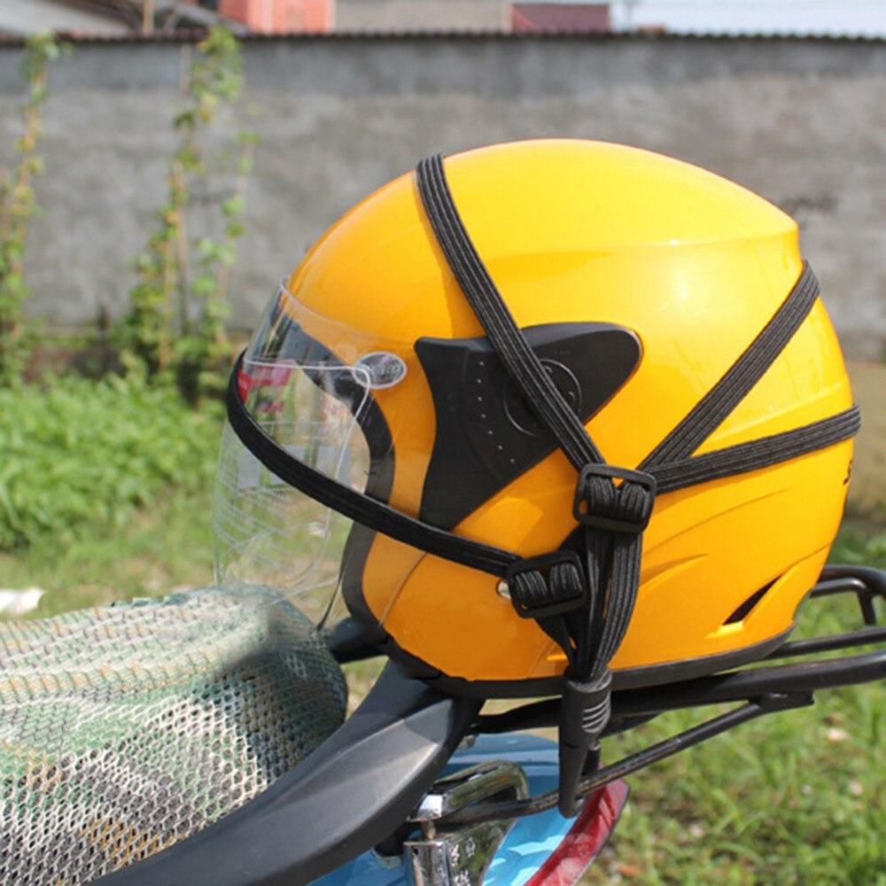 60CM luggage Net Rope Motorcycle Helmet Accessories Helmets Fixed Elastic Net CS-019A1 Motorcycle Helmet Rope Black Color
