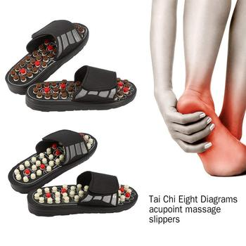 Foot Massage Slippers Acupuncture Therapy Massager Shoes For Foot Acupoint Activating Reflexology Feet Care Massageador Sandal 1