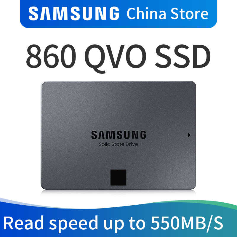 SAMSUNG MZ-76Q1T0BW 860 QVO 1TB 2TB 4TB SSD Solid State Festplatte Laptop SSD Solid State Disk 1T