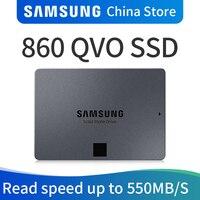 SAMSUNG MZ 76Q1T0BW 860 QVO ТБ 2 ТБ 4 ТБ SSD твердотельный жесткий диск твердотельный диск для ноутбука Твердотельный диск 1 T