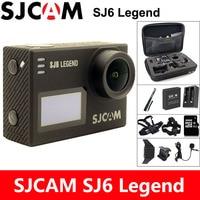 SJCAM SJ6 Легенда экшн камера 4 К Спорт DV Wi Fi 30 м Водонепроницаемый 1080 P Ultra HD 2 Сенсорный экран notavek 96660 удаленных Оригинал Cam экшен камера
