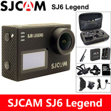 SJCAM SJ6 Legend Action Camera 4K Sports DV Wifi 30m Waterproof 1080P Ultra HD 2″ Touch Screen Notavek 96660 Remote Original Cam