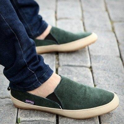 2014 hot men's zapato del boat shoes jeans canvas slip on