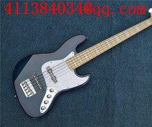 Humanos de China Nuevo OEM Guitarra Azul Guitarra Eléctrica, Bass Guitar Shop pickup Activo, envío gratis