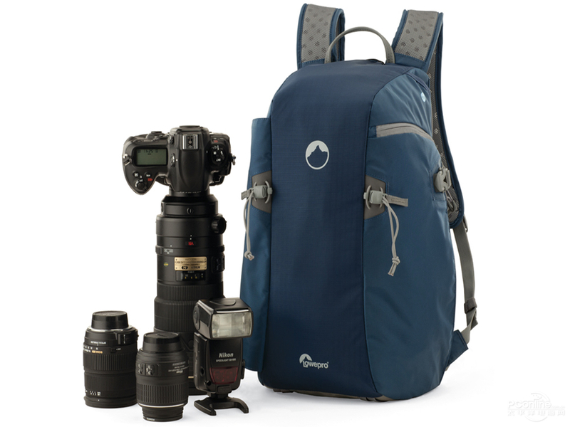 Genuine Blue Flipside Sport 15L AW DSLR Photo Camera Bag Daypack Backpack With All Weather Cover Wholesale Lowepro in Camera Video Bags from Consumer Electronics