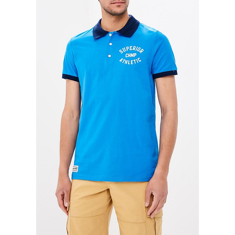 Polo Shirts MODIS M181M00340 men t-shirt cotton for male TmallFS