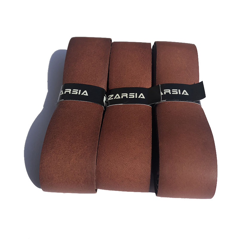 1pcs Genuine Cow Leather Tennis  Replacement Grip Pacific Pro Leather Grip 1.5mm Leather Grip For Tennis Racket