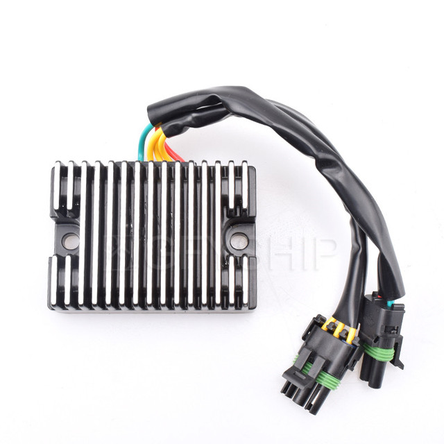 US $37 99 24% OFF|Motorcycle Voltage Regulator Rectifier MOSFET For SEA DOO  GSX RFI 1998 to 2002 3D DI 2004 PERSONAL WATERCRAFT PWC GTX DI 00 03-in
