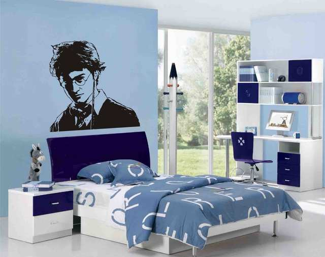 Camera Da Letto Stile Harry Potter : Harry potter personaggi autoadesivi di arte della parete