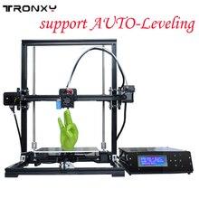 Поддержка auto level нормальный RepRap Prusa I3 DIY 3D-принтеры комплект Высокоточный трехмерная 3D печати ЖК-дисплей Экран 8 ГБ sd карты