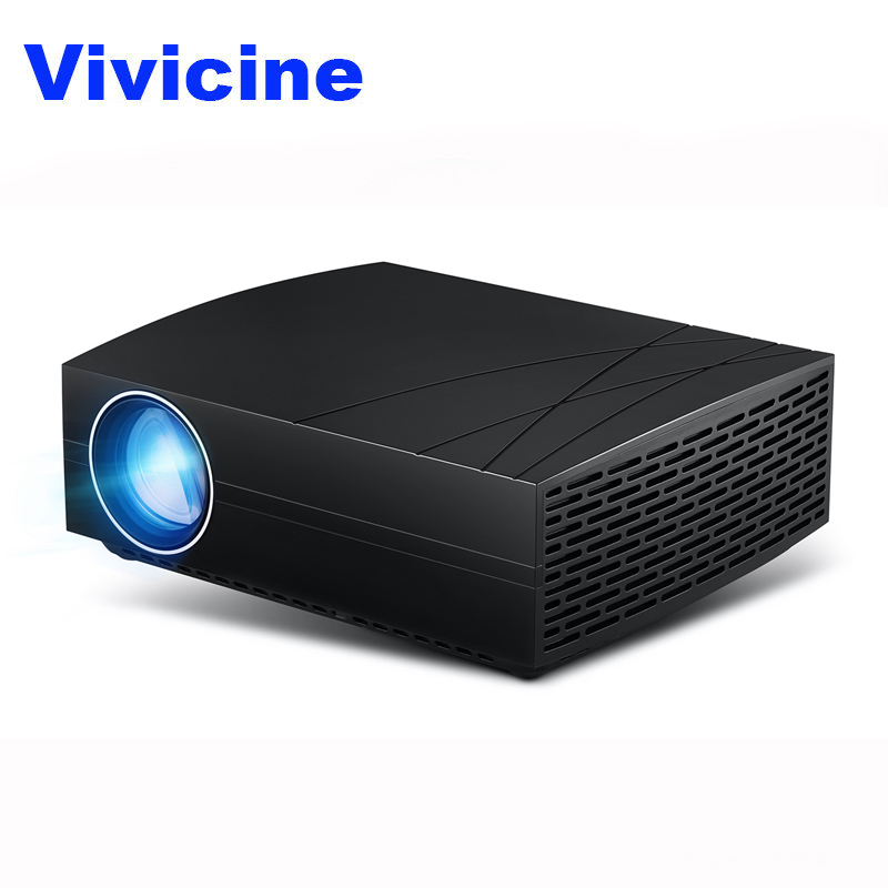 VIVICINE F20 Home Theater Projector,Option Android 7.1 WiFi BluetoothHD 1080p HDMI USB PC Video Game Projector Beamer Проектор