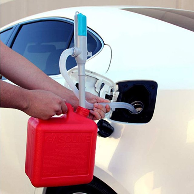 Electric Battery Operated Powered Liquid Transfer Siphon Pump with Bendable Suction Tube For Diesel Fuel Oil Water Gas