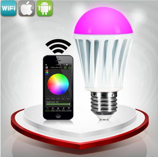 wifi remote switch RGBW hue light bulbs by wireless control by wifi control